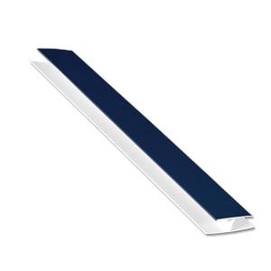 Soffit H-Trim Royal Blue