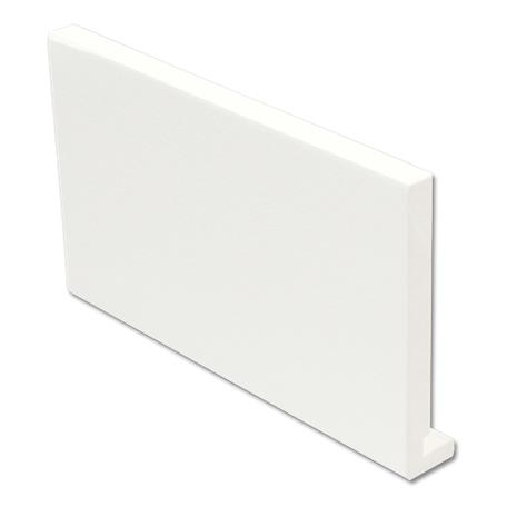 White Foiled Square Fascia