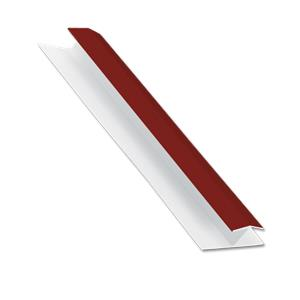 Centre Joint Cladding Trim Wine Red