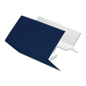 2-Part External Corner Cladding Trim Royal Blue