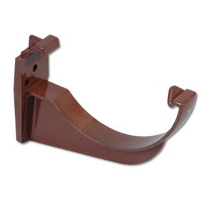 Brown Half-Round Gutter Fascia Bracket