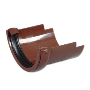 Half-Round (Brown)/Half-Round (Cast Iron) Gutter Adaptor
