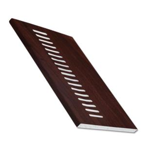 Rosewood Vented Soffit